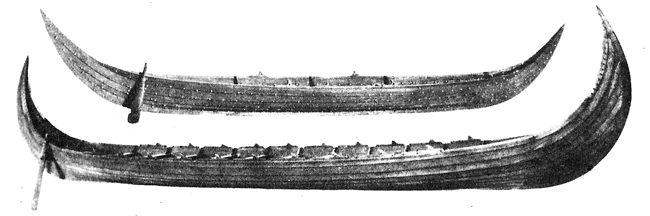 Реконструирани модели на викингски кораби от Западна Норвегия
