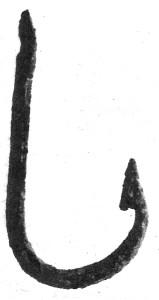 Бронзова въдица от Одесос.