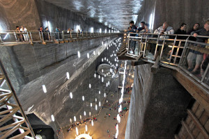 Romania-Turda-Salina-Salt-Mine-Rudolf-Mine-Overlook