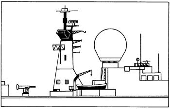 Коминът на специализиран кораб