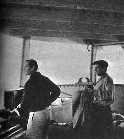 """Проф. Иванов на борда на изследователския кораб """"Витяз"""""""